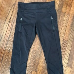 Lululemon Full Length Black Leggings Size 6